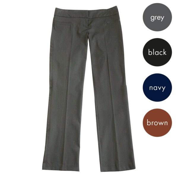 Girls Straight Leg Hipster Trouser CTRG141