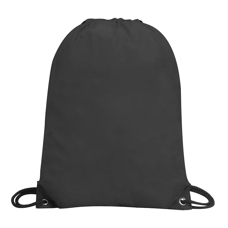 Stafford Nylon Drawstring Backpack - GBA5890-black