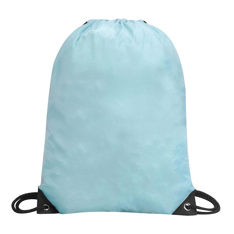Stafford Nylon Drawstring Backpack - GBA5890-sky