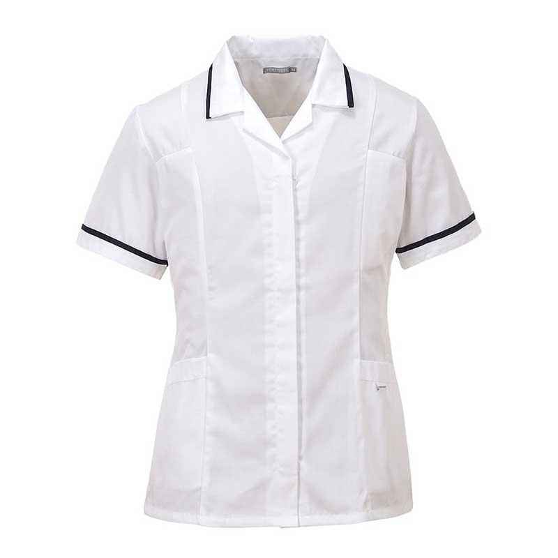 210g 65/35 PC Ladies Classic Tunic - HTUL20-white