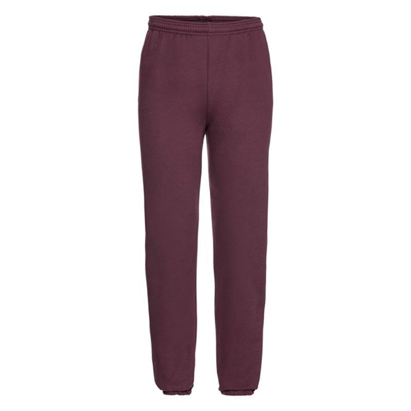 295g 50/50 PC Adults Sweat Pants - JJA750-burgundy