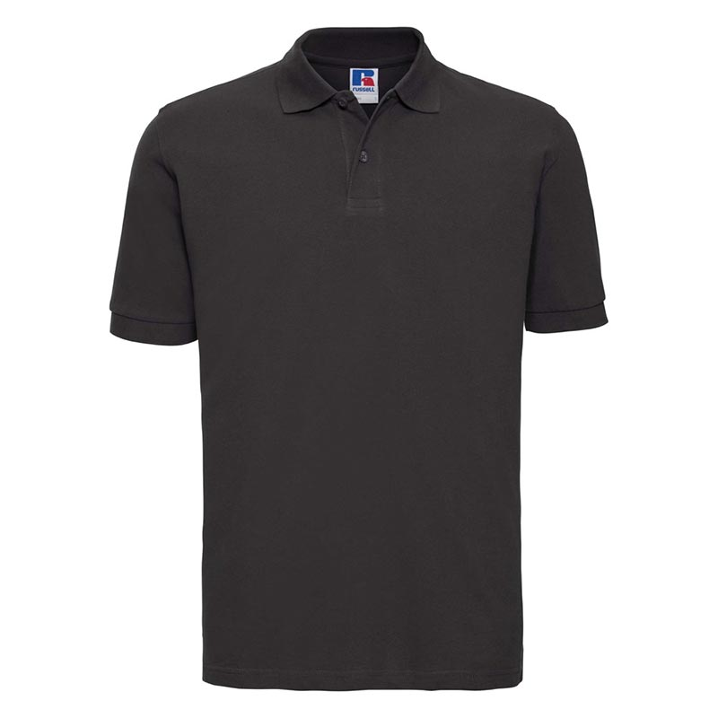 200g 100% Cotton Mens Classic Polo - JPA569-black