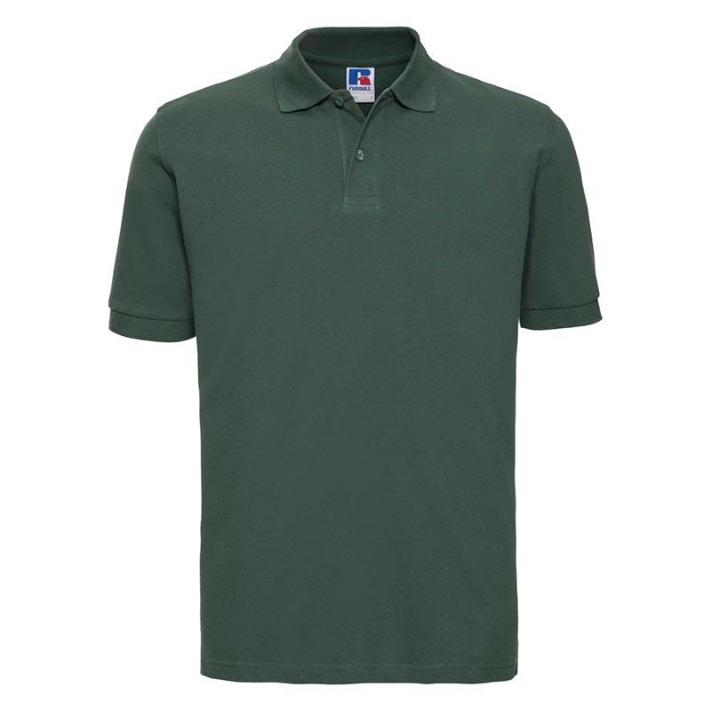 200g 100% Cotton Mens Classic Polo - JPA569-bottle-green