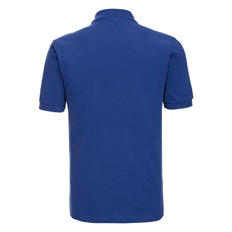200g 100% Cotton Mens Classic Polo - JPA569-bright-royal-back