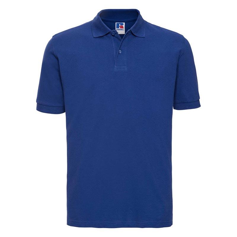 200g 100% Cotton Mens Classic Polo - JPA569-bright-royal