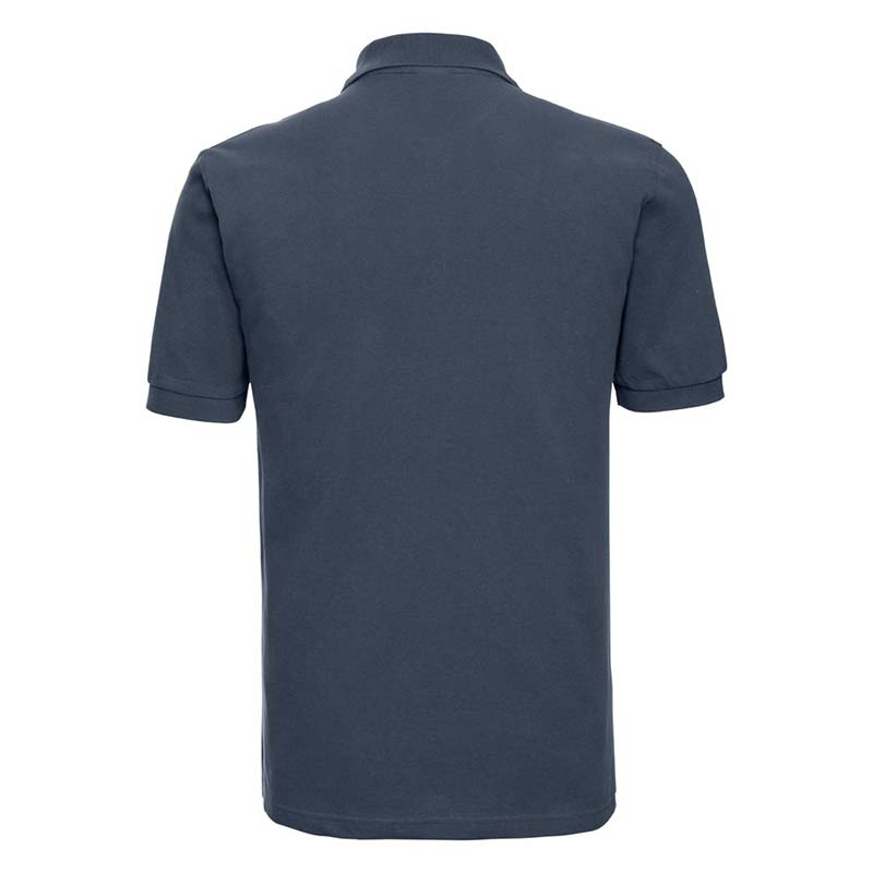 200g 100% Cotton Mens Classic Polo - JPA569-french-navy-back