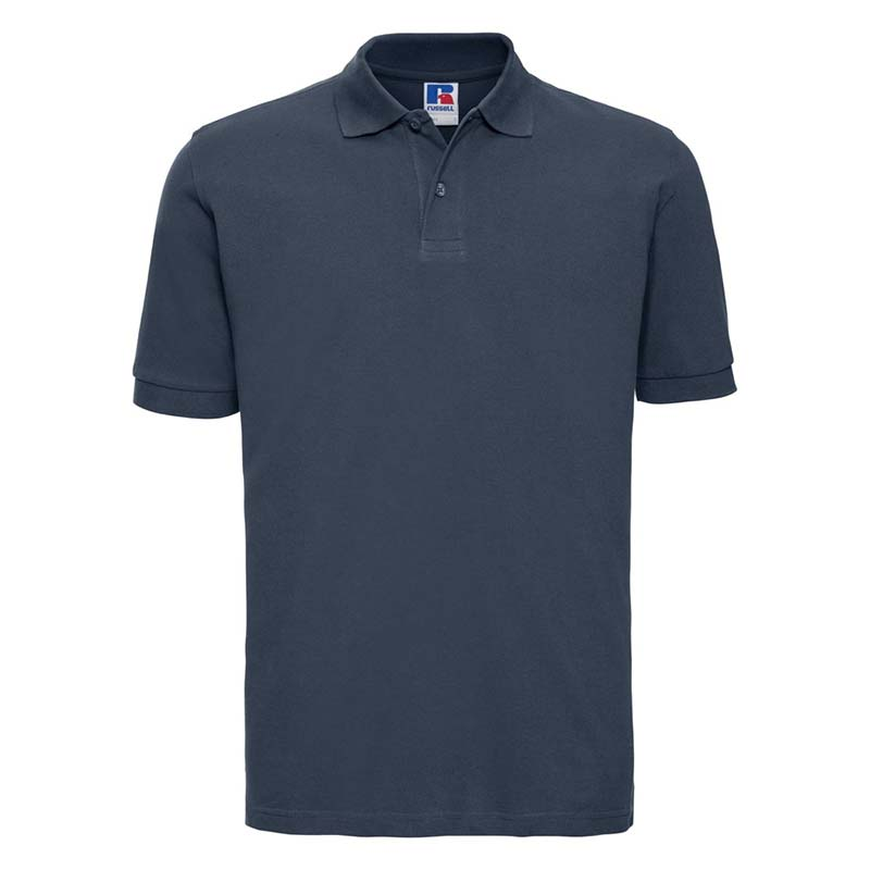 200g 100% Cotton Mens Classic Polo - JPA569-french-navy