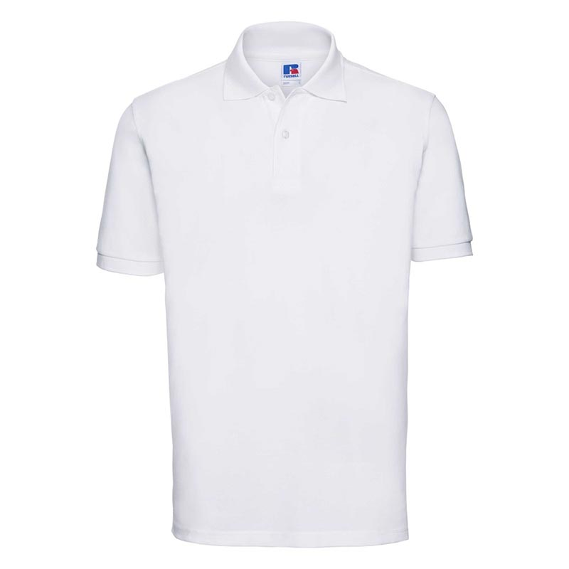 200g 100% Cotton Mens Classic Polo - JPA569-white