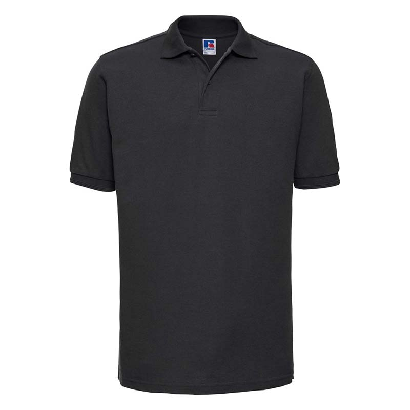215gsm 65/35PC Hardwearing Polycotton Polo - JPA599-black