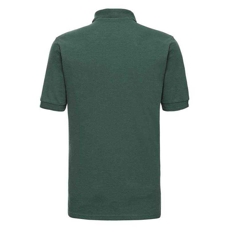 215gsm 65/35PC Hardwearing Polycotton Polo - JPA599-bottle-green-back