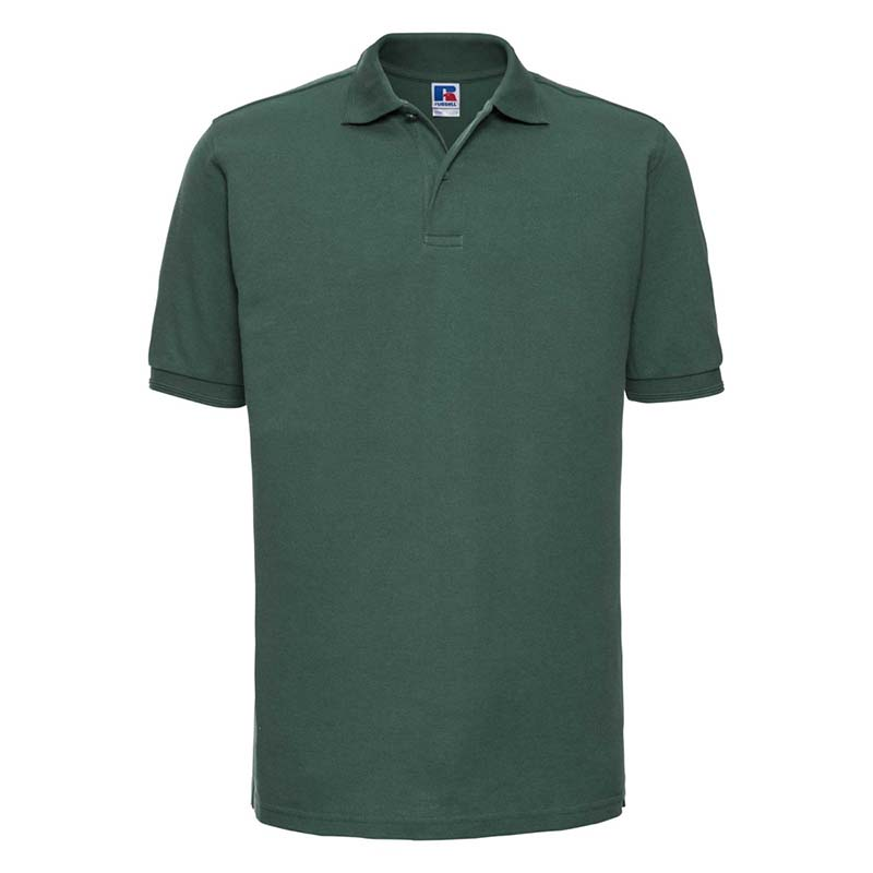 215gsm 65/35PC Hardwearing Polycotton Polo - JPA599-bottle-green