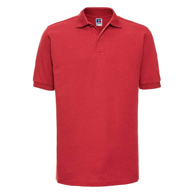 215gsm 65/35PC Hardwearing Polycotton Polo - JPA599-bright-red