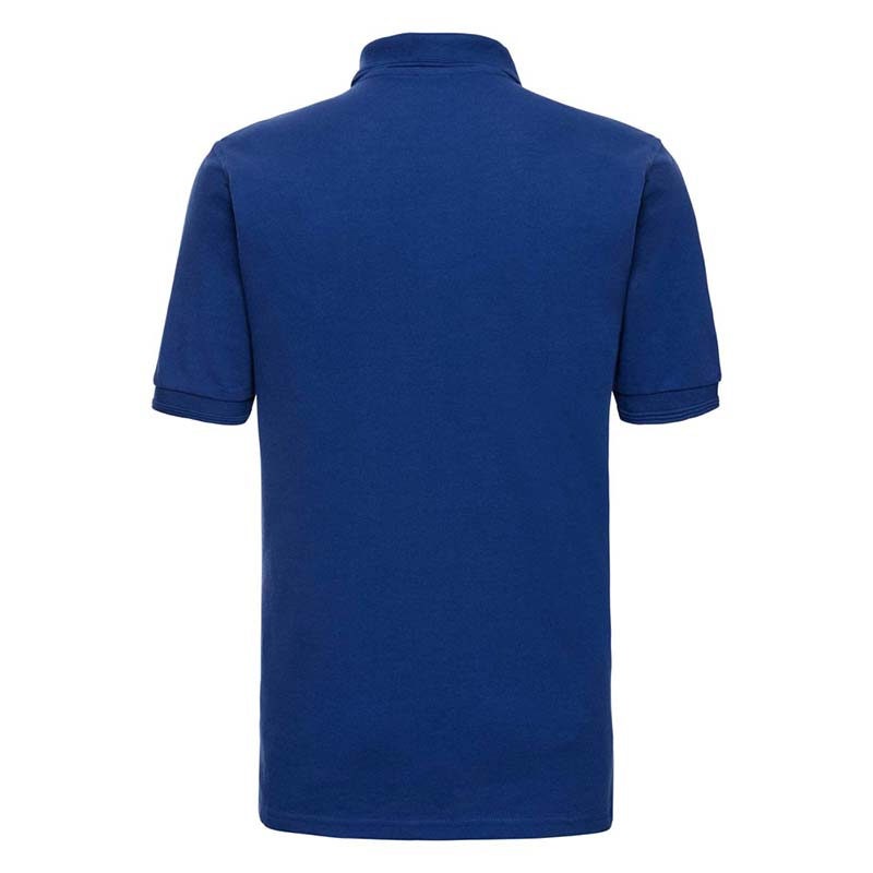 215gsm 65/35PC Hardwearing Polycotton Polo - JPA599-bright-royal-back