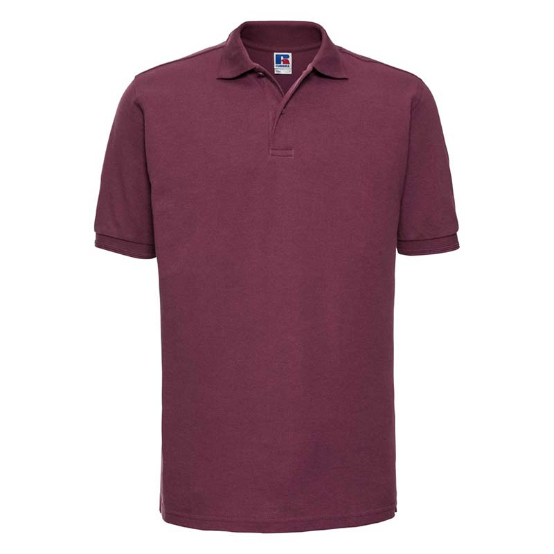 215gsm 65/35PC Hardwearing Polycotton Polo - JPA599-burgundy