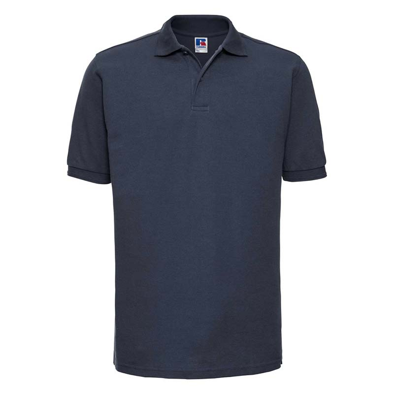 215gsm 65/35PC Hardwearing Polycotton Polo - JPA599-french-navy