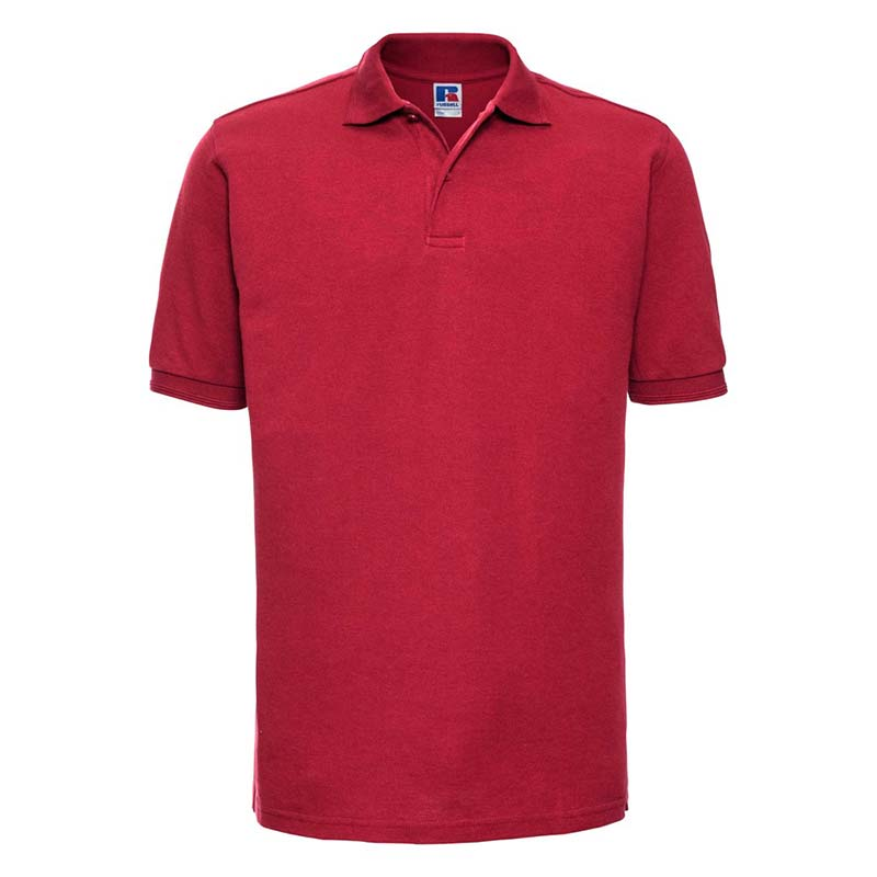 215gsm 65/35PC Hardwearing Polycotton Polo - JPA599-red