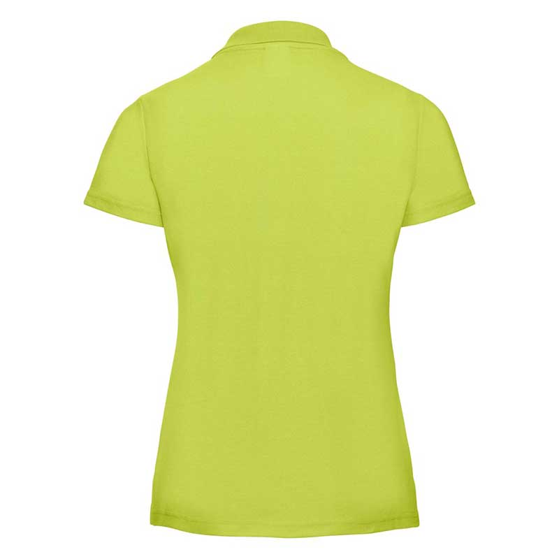 215gsm 65/35 PC Ladies Classic Polo - JPL539-lime-back
