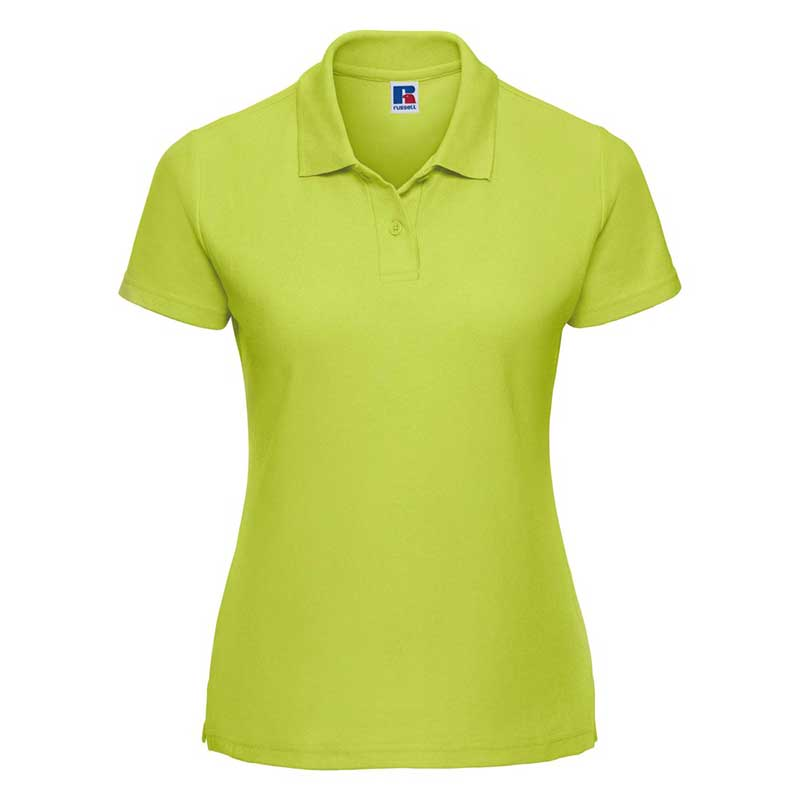 215gsm 65/35 PC Ladies Classic Polo - JPL539-lime