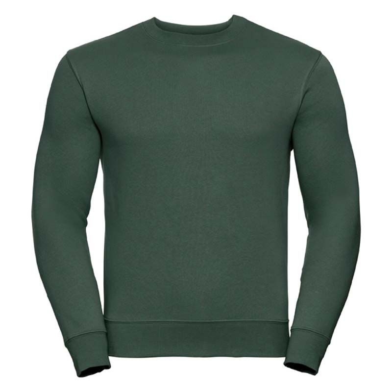 280gsm 80/20 CP Mens Set-In Comfort Authentic Crew Sweat Long Sleeve - JSA262-bottle
