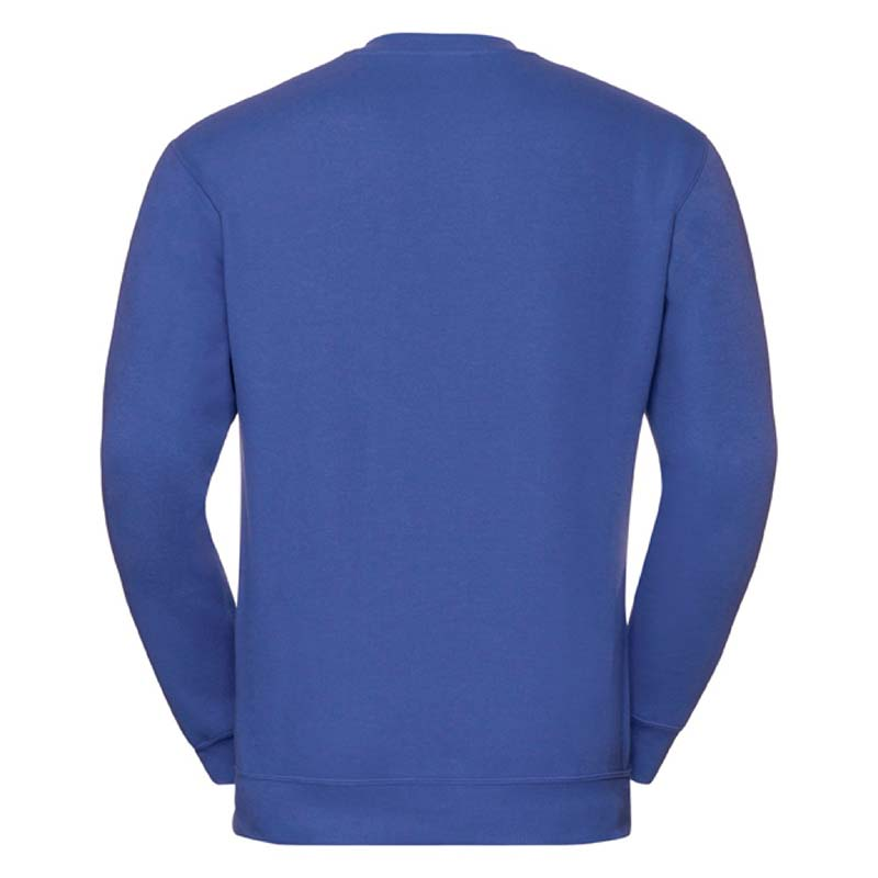 295g 50/50PC Mens V-neck Set-in Sweatshirt - JSA272-bright-royal-back