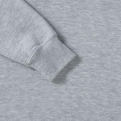 295g 50/50PC Mens V-neck Set-in Sweatshirt - JSA272-details2