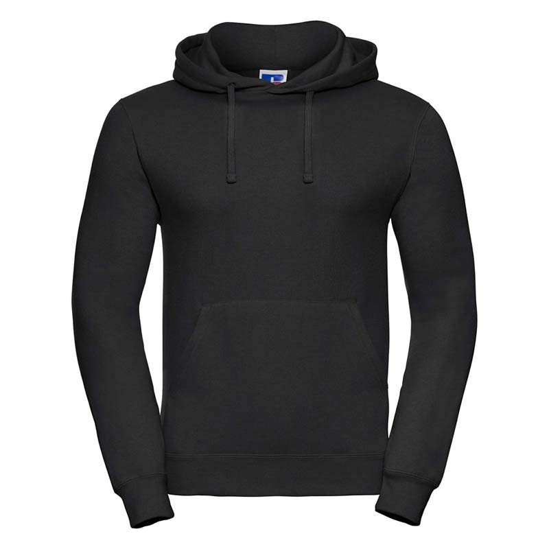295gsm 50/50PC Adults Set-In Hooded Sweatshirt - JSA575-black
