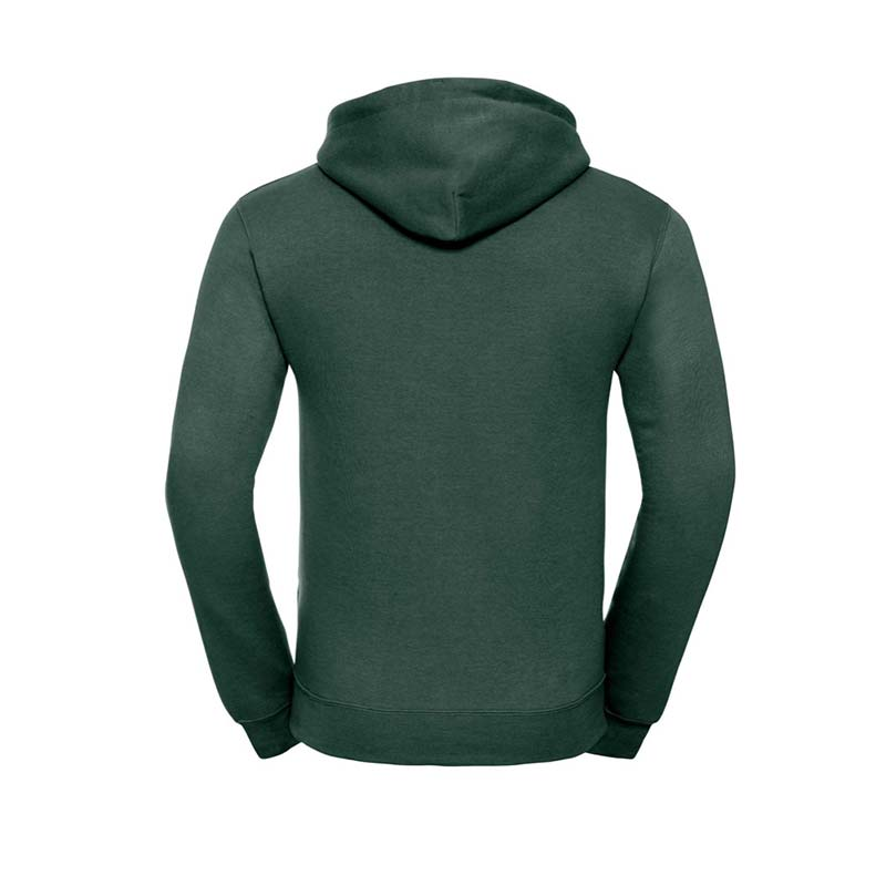 295gsm 50/50PC Adults Set-In Hooded Sweatshirt - JSA575-bottle-green-back