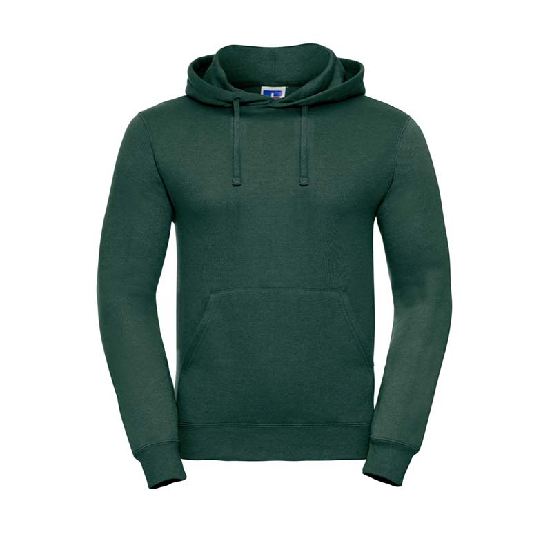 295gsm 50/50PC Adults Set-In Hooded Sweatshirt - JSA575-bottle-green