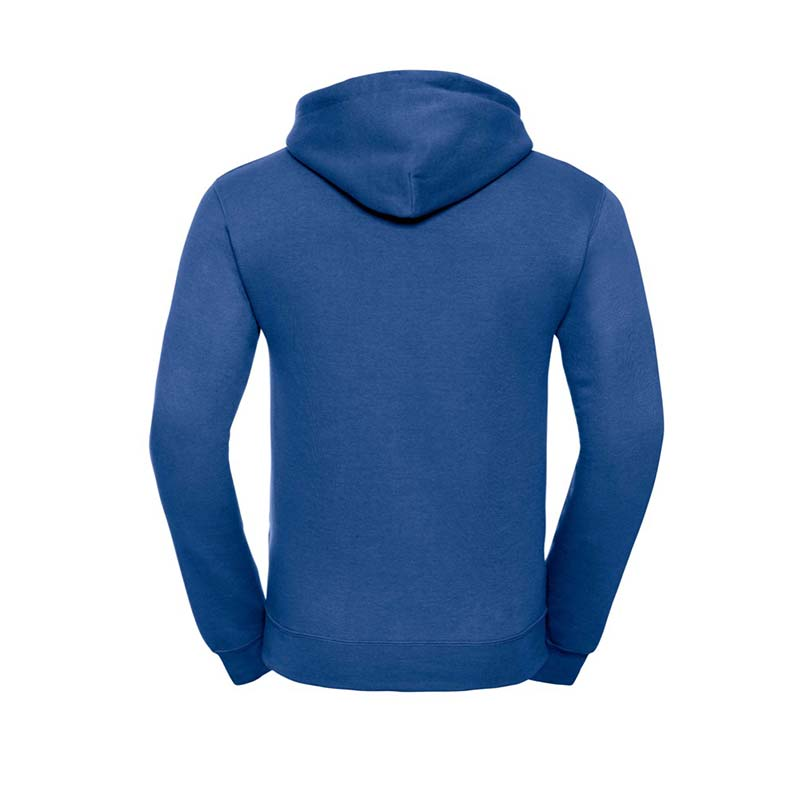 295gsm 50/50PC Adults Set-In Hooded Sweatshirt - JSA575-bright-royal-back