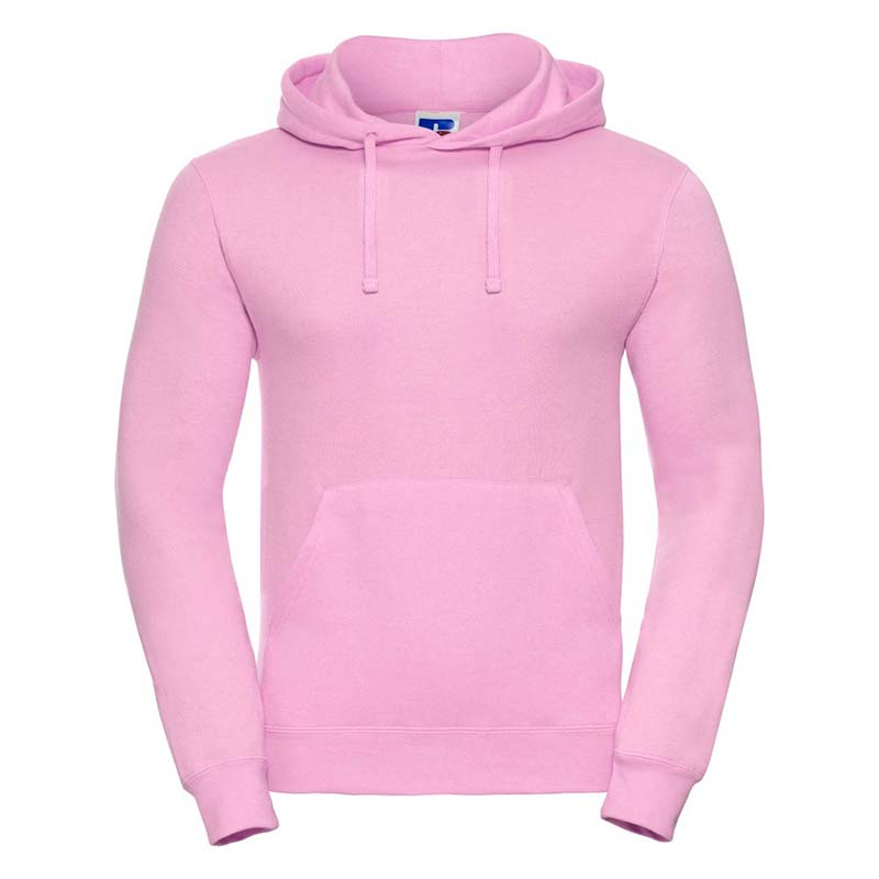 295gsm 50/50PC Adults Set-In Hooded Sweatshirt - JSA575-candy-pink