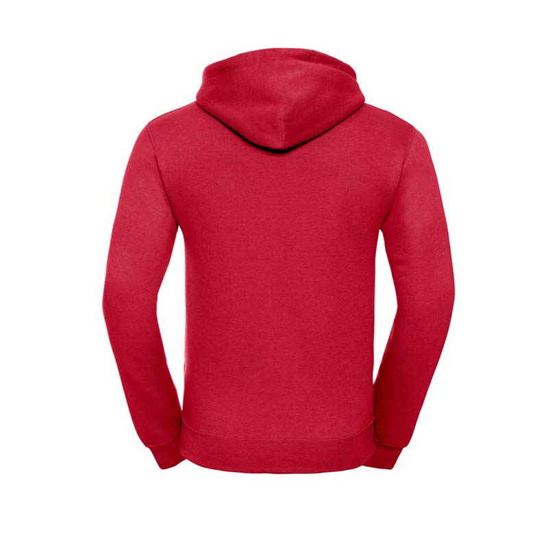 295gsm 50/50PC Adults Set-In Hooded Sweatshirt - JSA575-classic-red-back