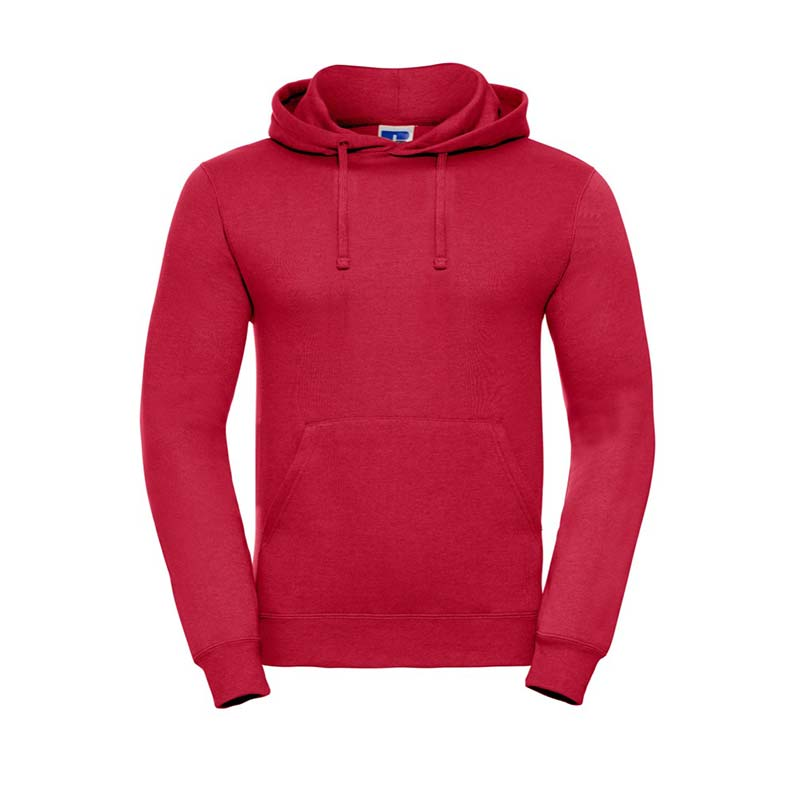 295gsm 50/50PC Adults Set-In Hooded Sweatshirt - JSA575-classic-red