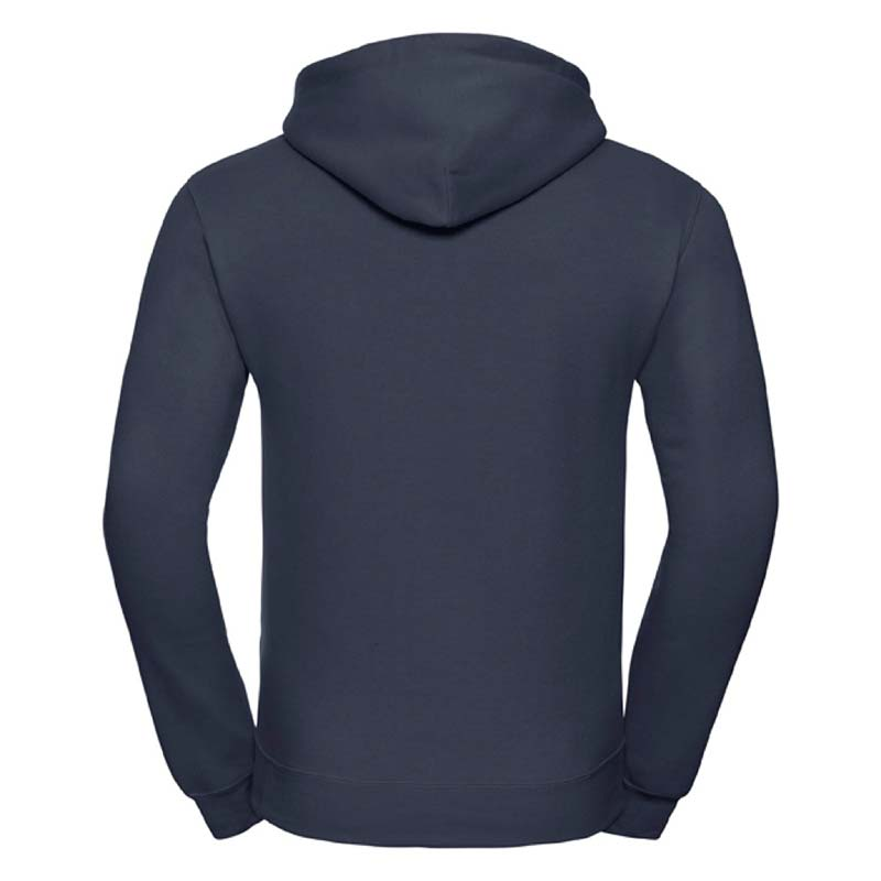 295gsm 50/50PC Adults Set-In Hooded Sweatshirt - JSA575-french-navy-black