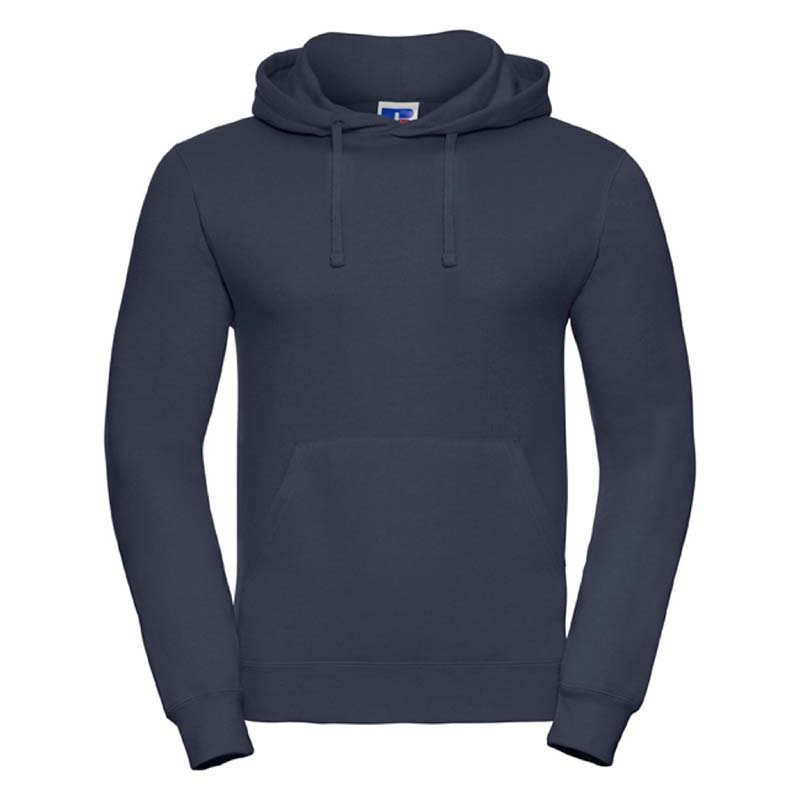 295gsm 50/50PC Adults Set-In Hooded Sweatshirt - JSA575-french-navy
