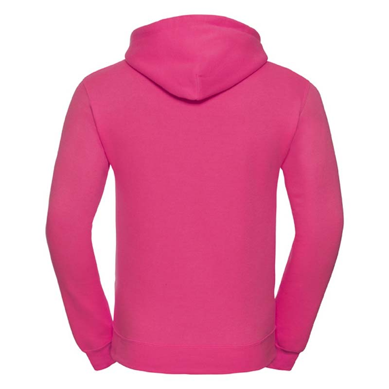 295gsm 50/50PC Adults Set-In Hooded Sweatshirt - JSA575-fuchsia-back