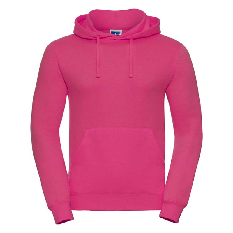 295gsm 50/50PC Adults Set-In Hooded Sweatshirt - JSA575-fuchsia