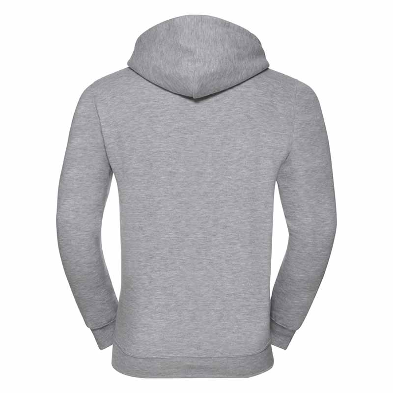 295gsm 50/50PC Adults Set-In Hooded Sweatshirt - JSA575-light-oxford-back