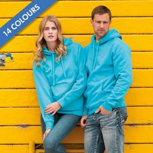 295gsm 50/50PC Adults Set-In Hooded Sweatshirt - JSA575-main