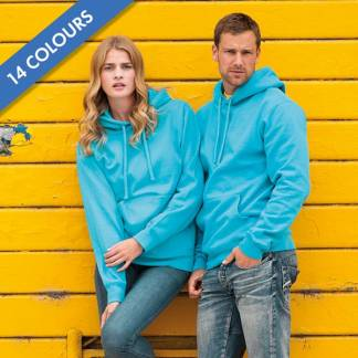 295gsm 50/50PC Adults Set-In Hooded Sweatshirt - JSA575
