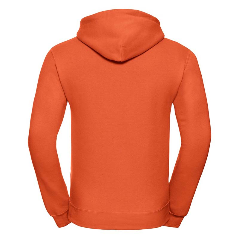 295gsm 50/50PC Adults Set-In Hooded Sweatshirt - JSA575-orange-back