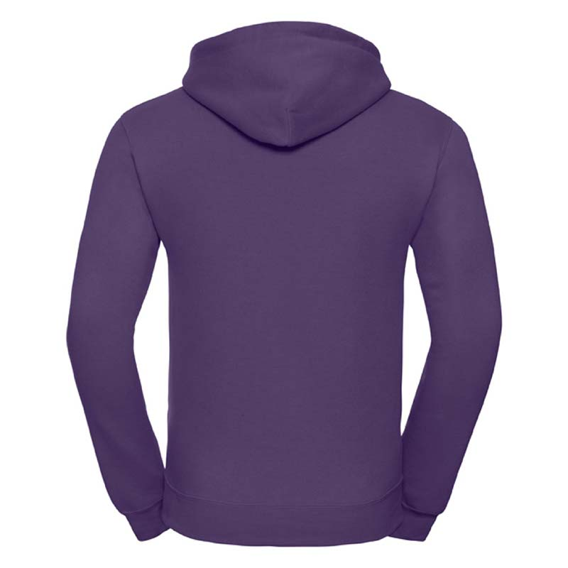 295gsm 50/50PC Adults Set-In Hooded Sweatshirt - JSA575-purple-back