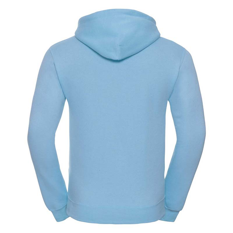 295gsm 50/50PC Adults Set-In Hooded Sweatshirt - JSA575-sky-back