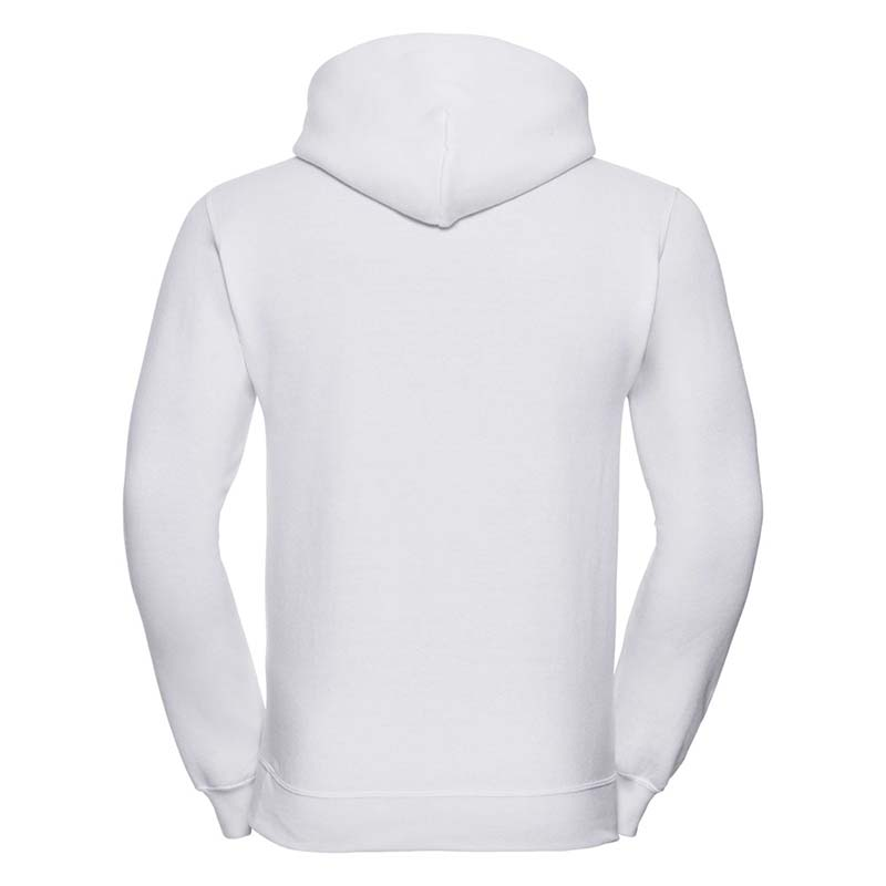 295gsm 50/50PC Adults Set-In Hooded Sweatshirt - JSA575-white-back