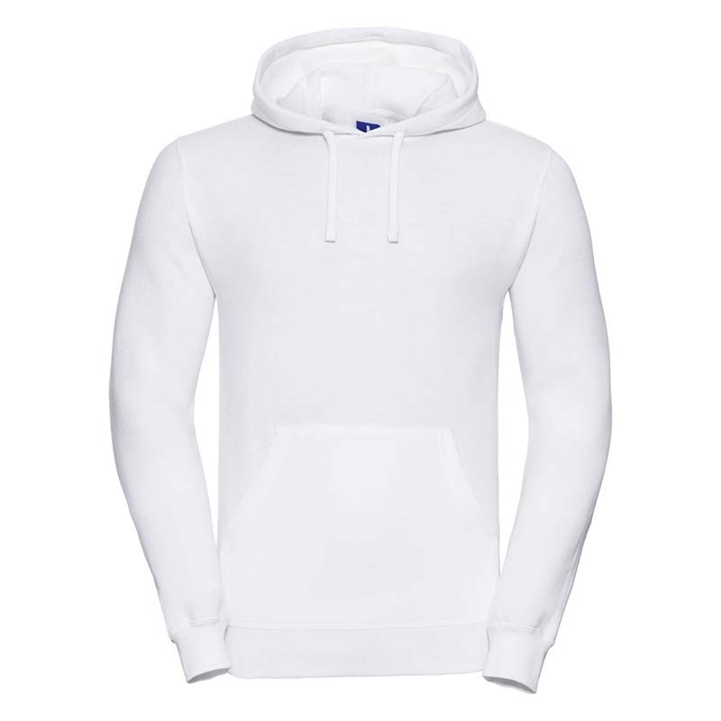 295gsm 50/50PC Adults Set-In Hooded Sweatshirt - JSA575-white