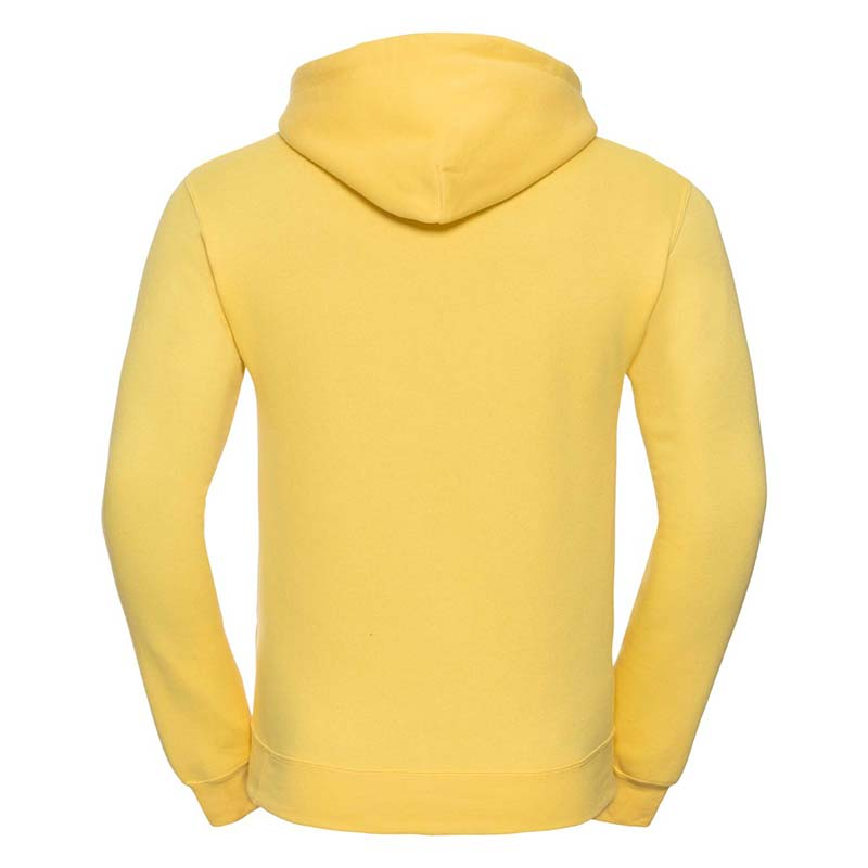 295gsm 50/50PC Adults Set-In Hooded Sweatshirt - JSA575-yellow-back