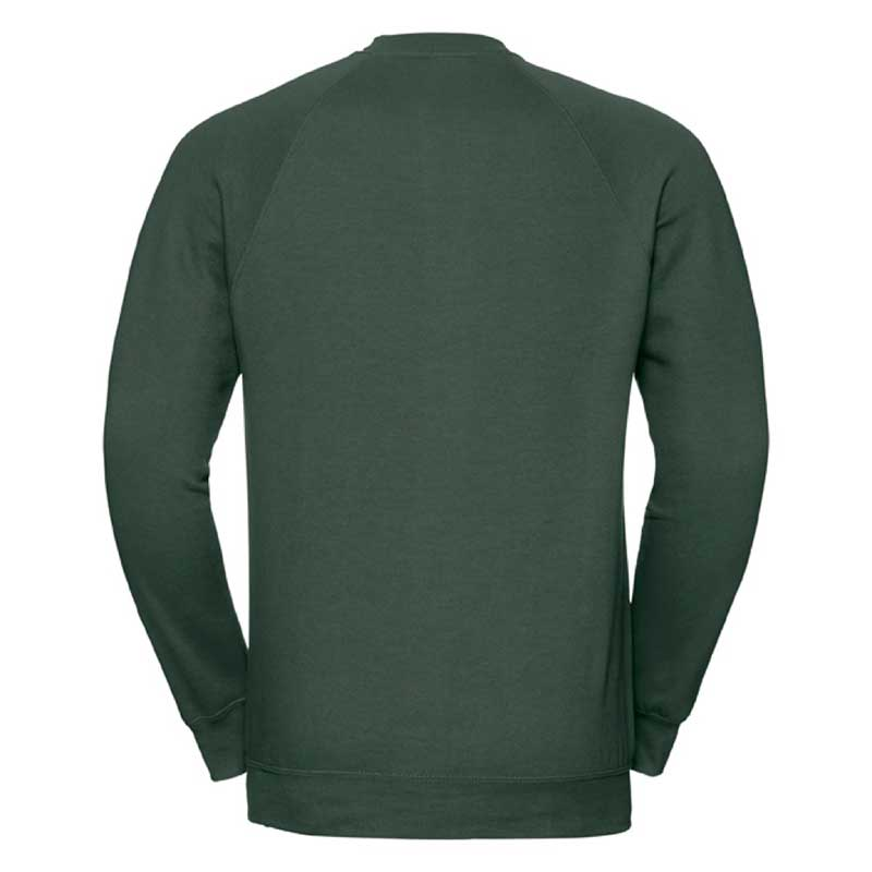 295gsm 50/50 CP Mens Classic Raglan Crew Sweat Long Sleeve - JSA762-bottle-back