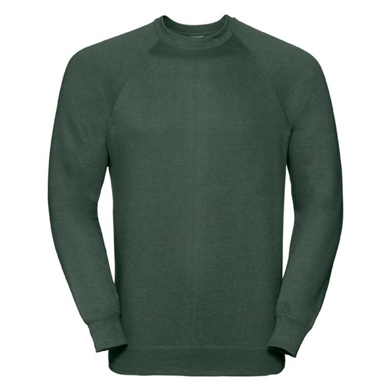295gsm 50/50 CP Mens Classic Raglan Crew Sweat Long Sleeve - JSA762-bottle
