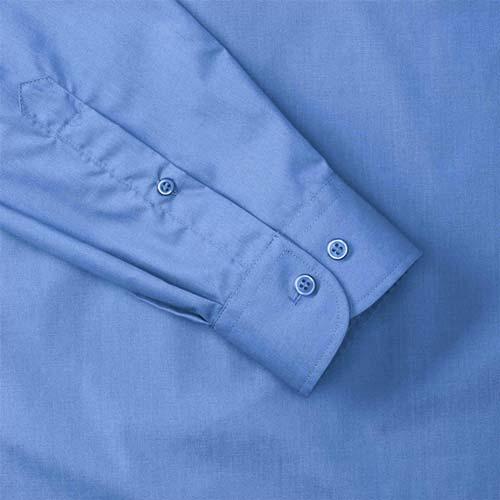 110g 65/35 PC Easy Care Poplin Shirt Long-Sleeve - JSHA934-details2