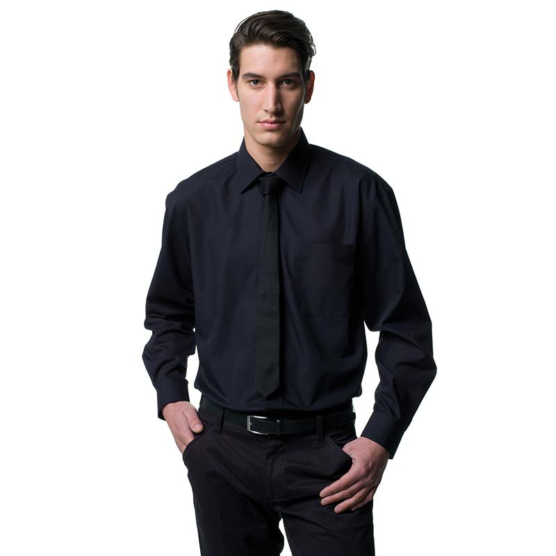 110g 65/35 PC Easy Care Poplin Shirt Long-Sleeve - JSHA934