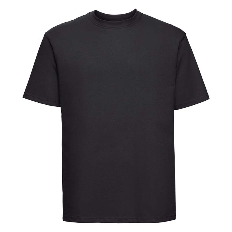 180gsm 100% Ringspun Cotton Classic T-Shirt Short Sleeve - JTA180-black